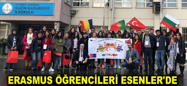 ERASMUS ÖĞRENCİLERİ ESENLER'DE