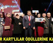 'KÜLTÜR KART'LILAR ÖDÜLLERİNE KAVUŞTU