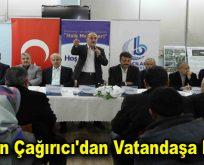 Başkan Çağırıcı'dan Vatandaşa Müjde!