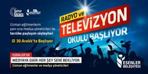 Esenler'de Radyo ve Televizyon Okulu başlıyor
