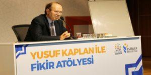 Gazeteci Yusuf Kaplan, Fikir Atölyesi'nde konuştu