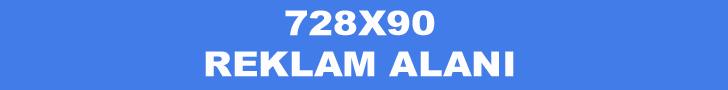 728x90 reklam alanı