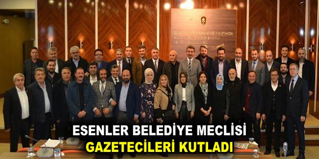 Esenler Belediye Meclisi, Gazetecileri kutladı