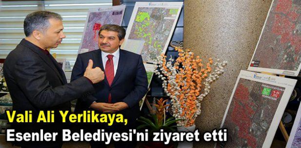 Vali Yerlikaya, Esenler Belediyesi'ni ziyaret etti