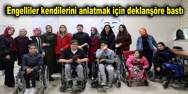 Engelliler kendilerini anlatmak için deklanşöre bastı