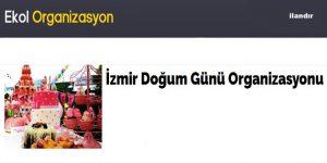 İzmir Doğum Günü Organizasyonu