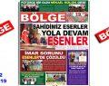"""BÖLGE GAZETESİ , YIL:19 , SAYI: 182 , """"ŞUBAT"""" SAYISI ÇIKTI!.."""