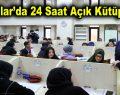 Bağcılar'da 24 saat açık kütüphane