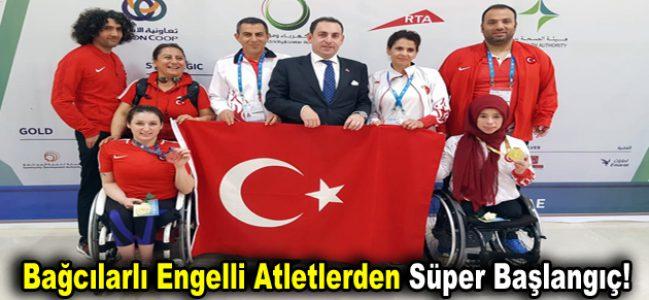 Bağcılarlı Engelli atletlerden süper başlangıç!