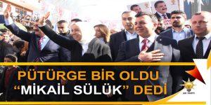 "PÜTÜRGE BİR OLDU ""MİKAİL SÜLÜK"" DEDİ"