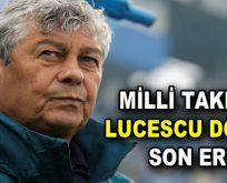 Milli Takımda Lucescu dönemi sona erdi
