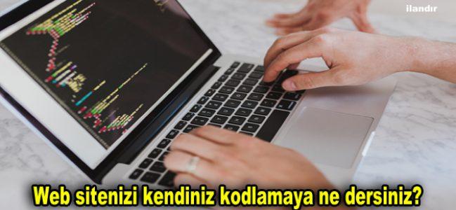 Web sitenizi kendiniz kodlamaya ne dersiniz?