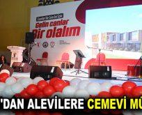 GÖKSU'DAN ALEVİLERE CEMEVİ MÜJDESİ!