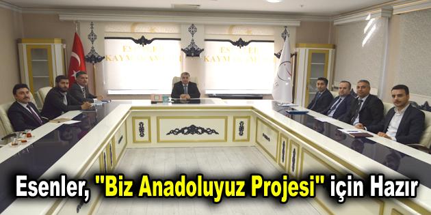 """Esenler, """"Biz Anadoluyuz Projesi"""" için misafirlerini bekliyor"""