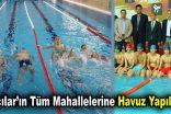 """Lokman Çağırıcı: """"22 mahallemizin tamamına havuz yapıyoruz"""""""