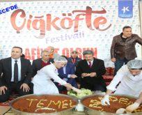 Küçükçekmece'de Çiğ Köfte Festivali düzenlendi