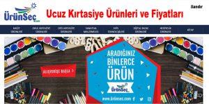 Ucuz Kırtasiye Ürünleri ve Fiyatları | www.urunsec.com