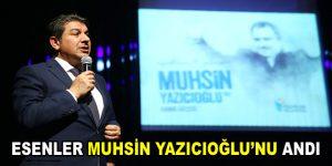 Esenler, Muhsin Yazıcıoğlu'nu andı