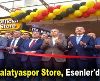 Evkur Yeni Malatyaspor Store, Esenler'de açıldı