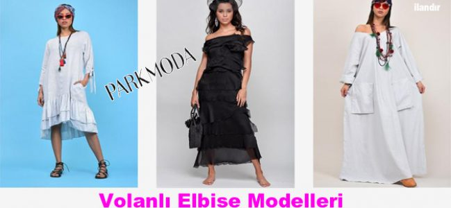 Yeni Trend Volanlı Elbise Modelleri