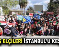 BARIŞ ELÇİLERİ İSTANBUL'U KEŞFETTİ
