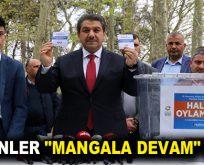 "ESENLER ""MANGALA DEVAM"" DEDİ"
