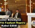 Esenler Belediyesi 2018 Yılı Faaliyet Raporu Kabul Edildi