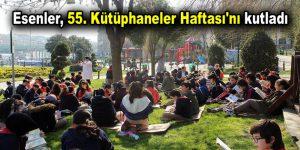Esenler, 55. Kütüphaneler Haftası'nı kutladı