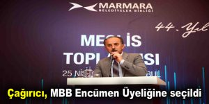 Çağırıcı, MBB Encümen Üyeliğine seçildi