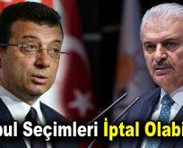 İstanbul seçimleri iptal olabilir mi?