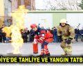 Esenler Belediyesi'nde Tahliye ve Yangın Tatbikatı