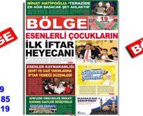 "BÖLGE GAZETESİ , YIL:19 , SAYI: 185 , ""MAYIS"" SAYISI ÇIKTI!.."