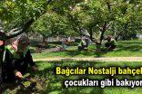 Bağcılar Nostalji bahçelerine çocukları gibi bakıyorlar