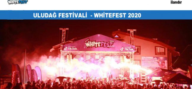 ULUDAĞ FESTİVALİ  – WHİTEFEST 2020
