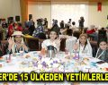 ESENLER'DE 15 ÜLKEDEN YETİMLERLE İFTAR