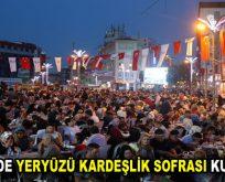 ESENLER'DE YERYÜZÜ KARDEŞLİK SOFRASI KURULUYOR