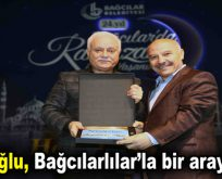 Prof. Dr. Nihat Hatipoğlu, Bağcılarlılar'la bir araya geldi