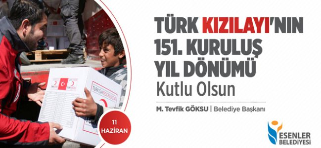Türk Kızılay'ının 151. Kuruluş Yıl Dönümü