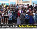 Bağcılarlı gençler tatil için Kefken Kampı'na uğurlandı
