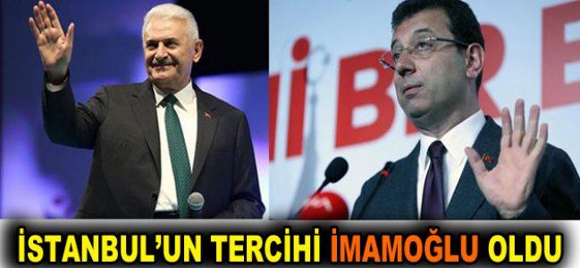 İstanbul'un tercihi İmamoğlu oldu