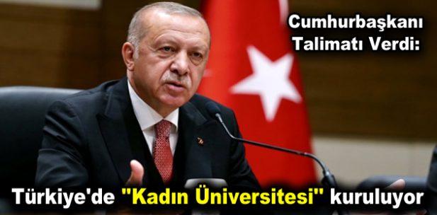 """Türkiye'de """"Kadın Üniversitesi"""" kuruluyor"""