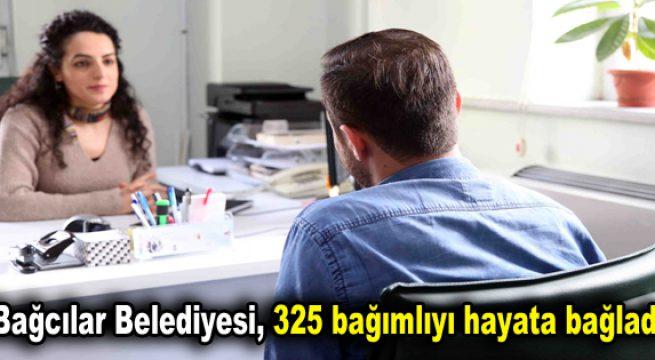 Bağcılar Belediyesi, 325 bağımlıyı hayata bağladı