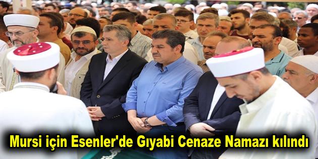 Mursi için Esenler'de gıyabi cenaze namazı kılındı