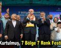 Numan Kurtulmuş, 7 Bölge 7 Renk Festivali'nde