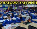 Okula başlama yaşı değişiyor
