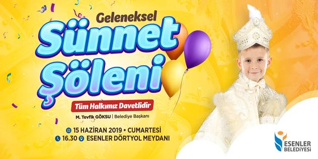 ESENLER'DE SÜNNET ŞÖLENİ