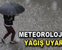 """Meteoroloji İstanbul için """"Sağanak yağış ve fırtına"""" uyarısı!"""
