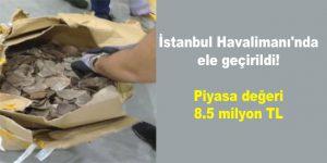 İstanbul Havalimanı'nda ele geçirildi!