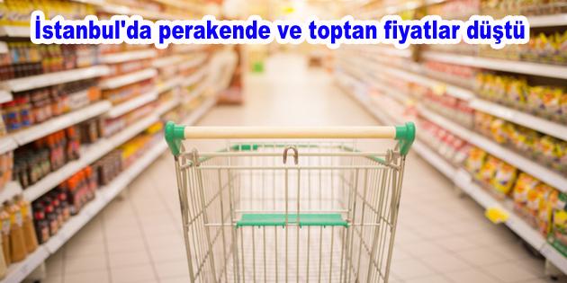 İstanbul'da perakende ve toptan fiyatlar düştü