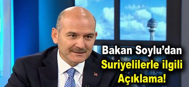 İstanbul'daki Suriyelilerle ilgili açıklama!